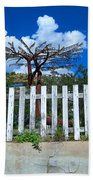 Metal Art Tree Bisbee Beach Towel