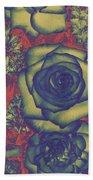 Metalic Rose Beach Towel