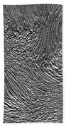 Ice - Metallic Ice Beach Towel