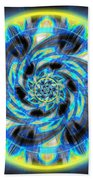 Metatron Swirl Beach Towel by Derek Gedney