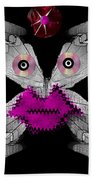 Meteoroid Creature  Coming From Comets And Androids Pop Art Beach Towel by Pepita Selles