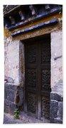 Mexican Door 34 Beach Towel