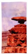 Mexican Hat Rock Beach Towel