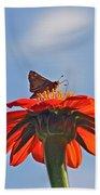 Mexican Sunflower Hat Dance Beach Towel