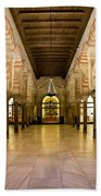 Mezquita Interior In Cordoba Beach Towel