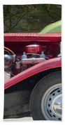 Mg Engine Beach Towel