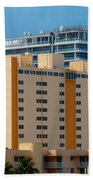 Miami Apartments Beach Towel