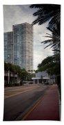 Miami Beach-0166 Beach Towel