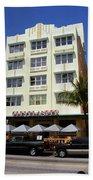 Miami Beach - Art Deco 43 Beach Towel