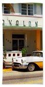 Miami Beach - Art Deco Beach Towel