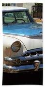 Miami Beach Classic Car 2 Beach Towel