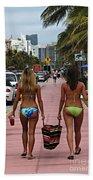 Miami Vice Beach Towel
