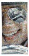 Michael Jackson - Mosaic Beach Towel
