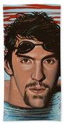 Michael Phelps Beach Sheet