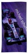 Michael Schumacher Beach Towel