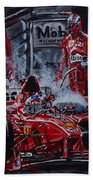 Michael Schumacher Out Of The Darkness Beach Towel