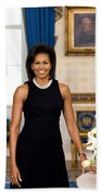 Michelle Obama Beach Towel