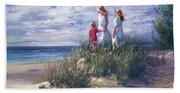 Michigan Shore Memories  Beach Towel