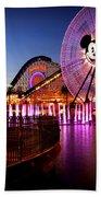Mickey's Water Wheel Beach Towel