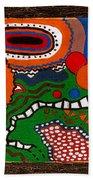 Microscopii Beach Towel