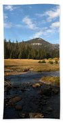 Middle Fork Of The San Joaquin River Beach Towel