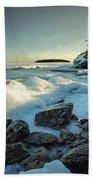 Middlebrun Bay Sunset II Beach Towel