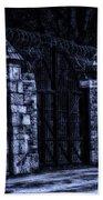 Midnight At The Prison Gates Beach Towel