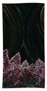 Midnight Forest By Jrr Beach Towel