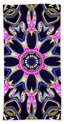 Midnight Magnetism Beach Towel