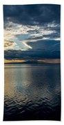 Midnight Majesty Beach Towel