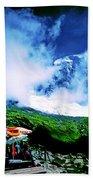 Le Milieu De Mont Blanc   Beach Towel