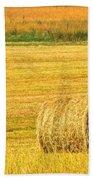Midwest Farming Beach Towel