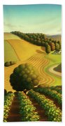 Midwest Vineyard Beach Towel
