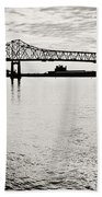 Mighty River Beach Towel