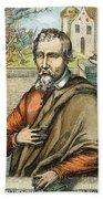 Miguel Serveto (1511-1553) Beach Towel