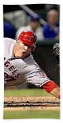 Mike Trout Beach Towel
