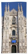 Milan Cathedral  Beach Towel