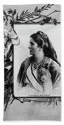 Milena Vukotic (1847-1923) Beach Towel