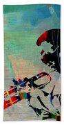 Miles Davis Jazzman Beach Towel