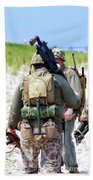 Military Small Arms 03 Ww II Beach Towel by Thomas Woolworth