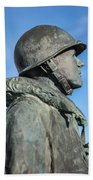 Military Soldier Beach Towel