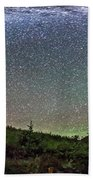Milky Way Over Red Rock Canyon Beach Towel
