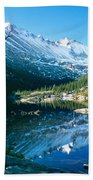 Mills Lake Beach Towel by Eric Glaser