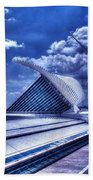 Milwaukee Art Museum 1 Beach Towel