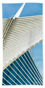 Milwaukee Art Museum Beach Towel