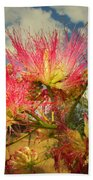 Mimosa Blossoms Beach Towel