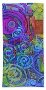 Out Of My Mind Beach Towel