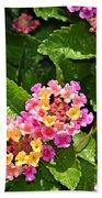 Mini Flowers Beach Towel