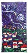 Mini Starry Night Beach Towel