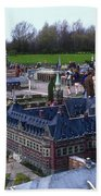Miniature Friedenspalast Beach Towel
